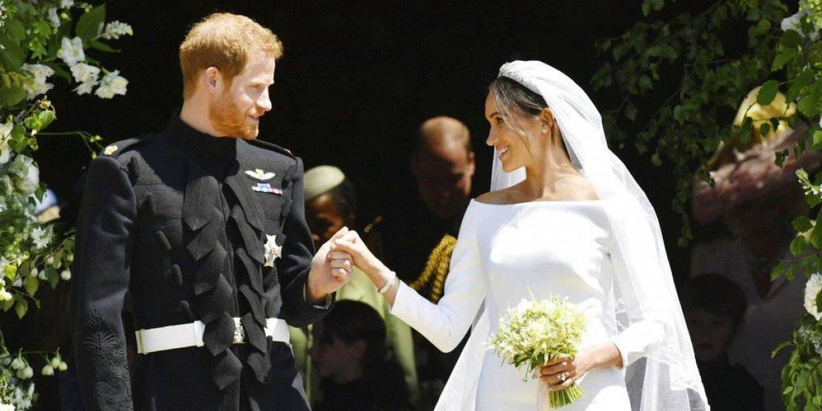 Exhibirán los trajes de boda del príncipe Harry y Meghan