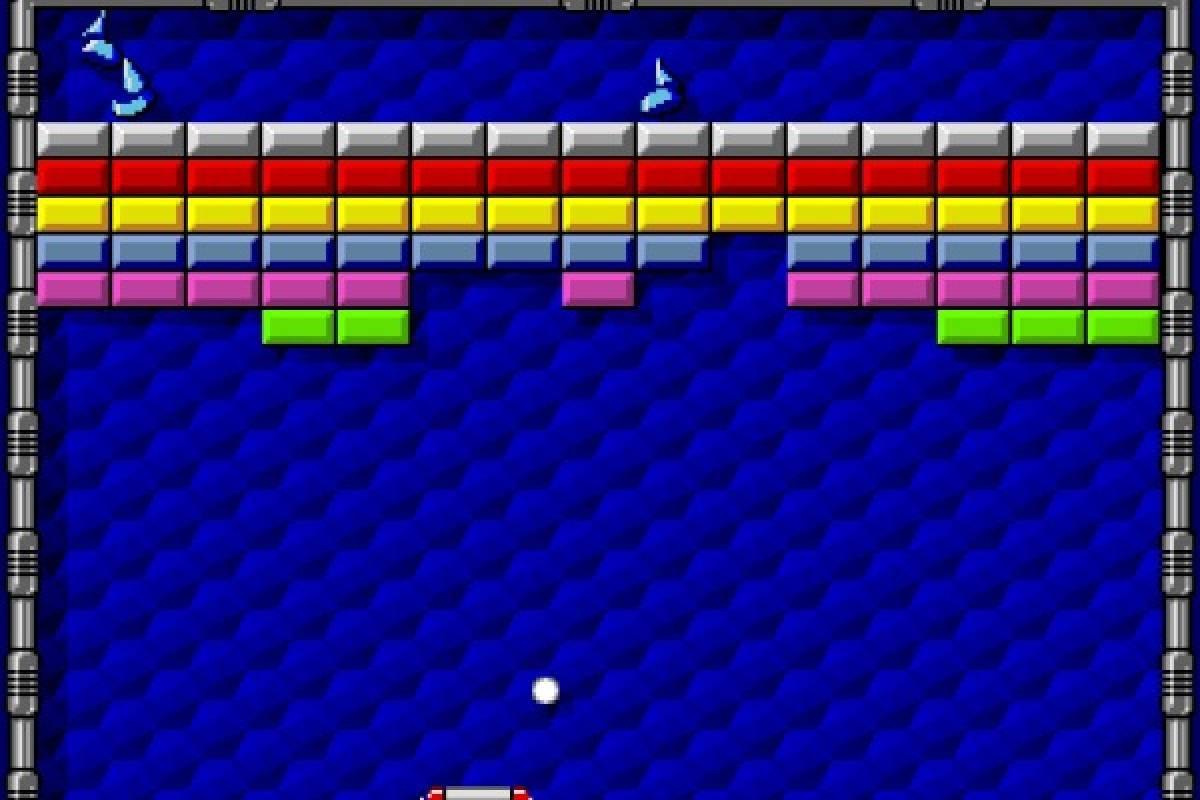 Arkanoid. Un juego clásico de Atari en el que se destruyen bloques con una pelota Foto: Especial