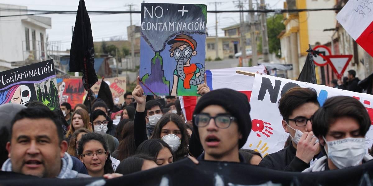 Estudiantes de Quintero al frente de la lucha: amenazan con tomarse los colegios si es que los obligan a volver a clases