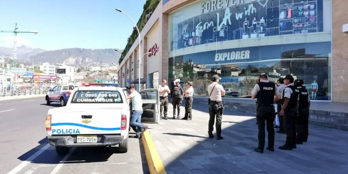 Cumbayá: Descartan alerta de bomba en el Centro Comercial Scala Shopping