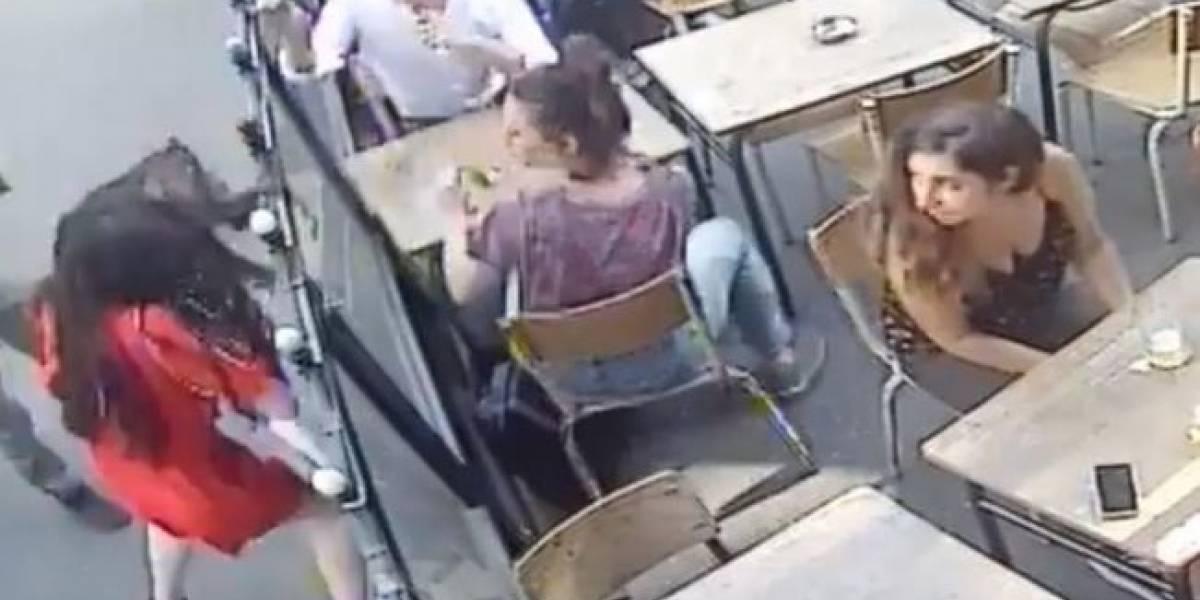 Detienen en París al hombre que abofeteó brutalmente a una mujer en plena calle
