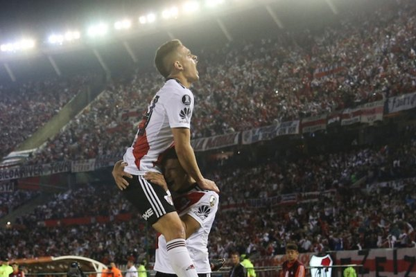Goles de River Plate vs Racing Club Copa Libertadores 2018