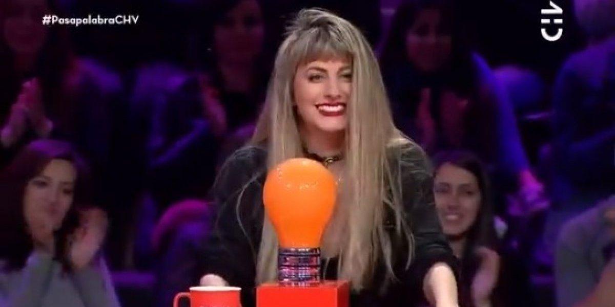 """El nuevo look con el que Cata Palacios se robó las miradas en """"Pasapalabra"""""""