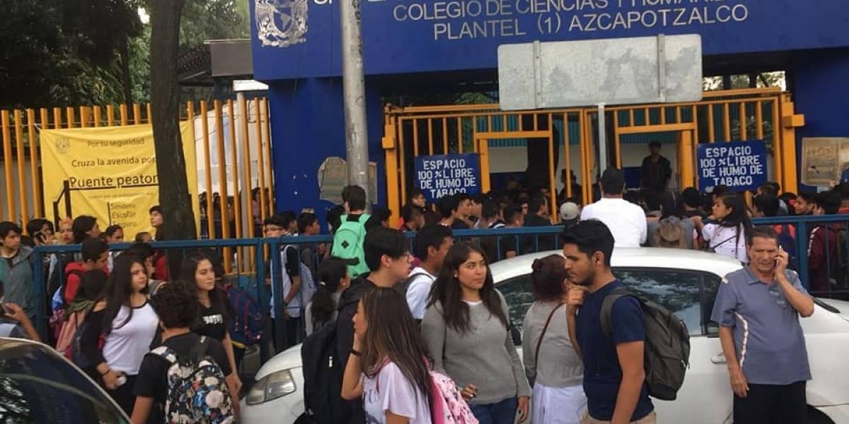 Autoridades piden a estudiantes paristas liberar CCH Azcapotzalco