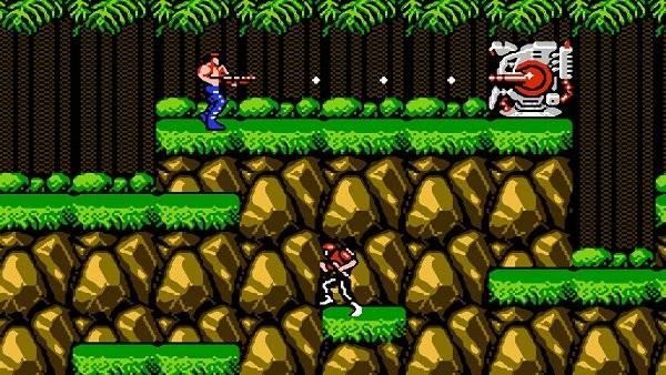 Contra. Uno de los clásico de NES y de los juegos de plataforma más recordados Foto: Especial