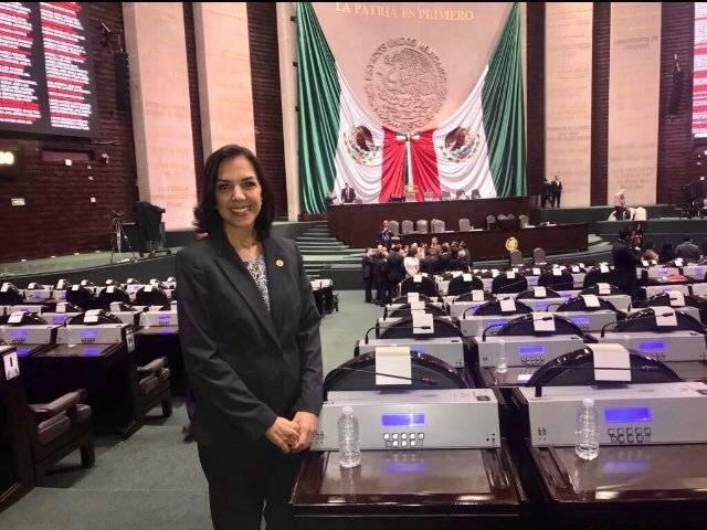 Isabel Guerra (PAN) Foto: Twitter @IsabelGuerraMx