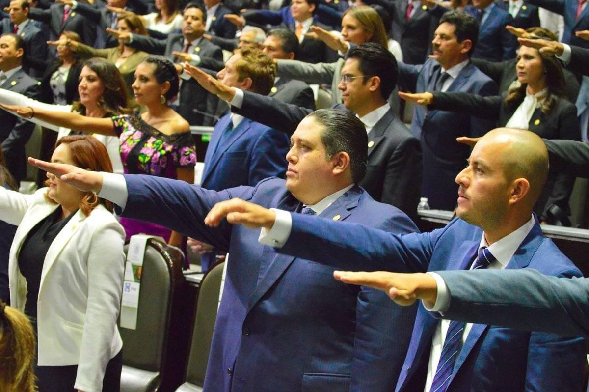 Diputado Luis Mendoza (PAN) Foto: Twitter @LuisMendozaBJ