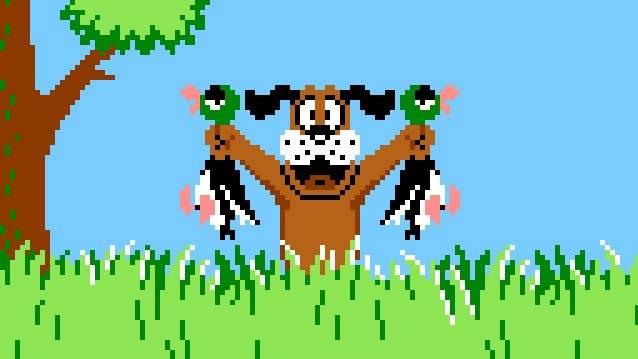 Duck Hunt se jugaba con un control en forma de pistola para disparar a patos que aparecían volando por la pantalla Foto: Especial