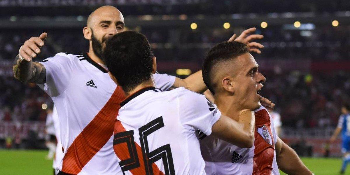 River se hizo fuerte y eliminó de la Libertadores al Racing de los chilenos