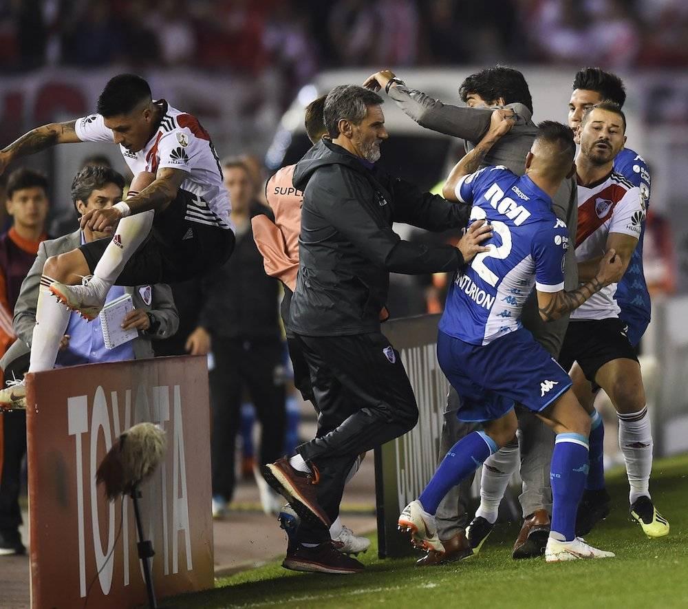 Pérez trató de escapar del enfurecidp Centurión. / Getty Images