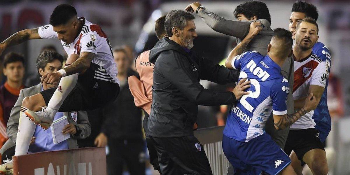 Enzo Pérez 'empaña' pase de River Plate a siguiente ronda de Libertadores