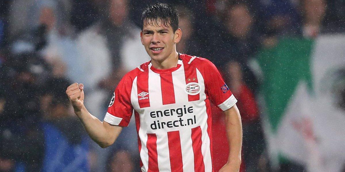 Hirving Lozano has had a good season with PSV Eindhoven