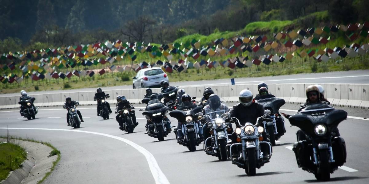Los amantes de Harley-Davidson se toman Viña del Mar