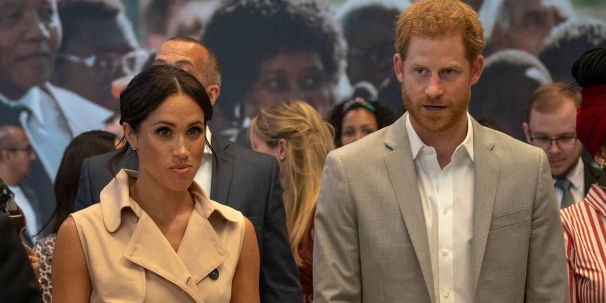 A reação de Harry e Meghan Markle ao encontrar ex-namorada do príncipe