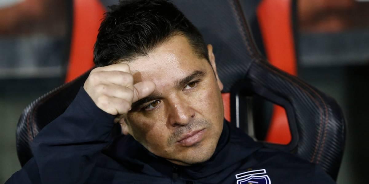 Héctor Tapia fue sancionado y no podrá dirigir a Colo Colo ante Corinthians en Brasil