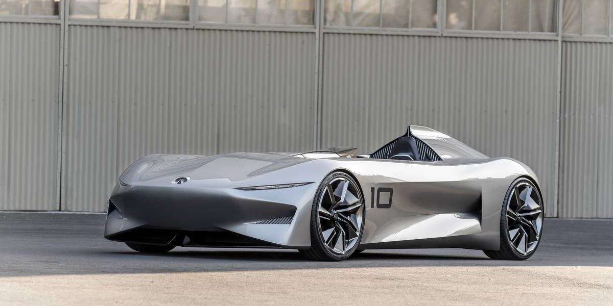 Infiniti revela el concepto eléctrico Prototype 10