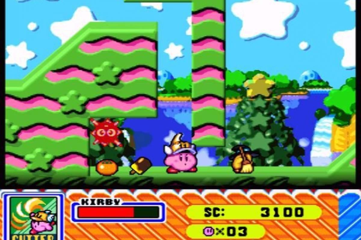 Kirby. Otro de los clásicos que han sobrevivido al tiempo Foto: Especial