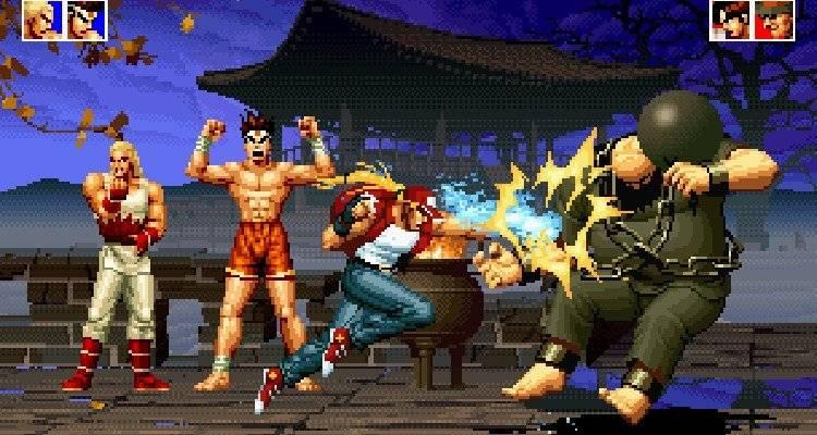 The King of Fighters. Un arcade de peleas que los más jóvenes pudieron jugar en las maquinitas Foto: Especial