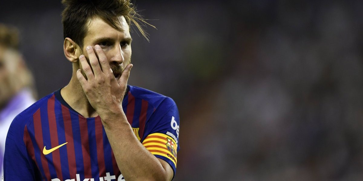 Lionel Messi aparece con nuevo look