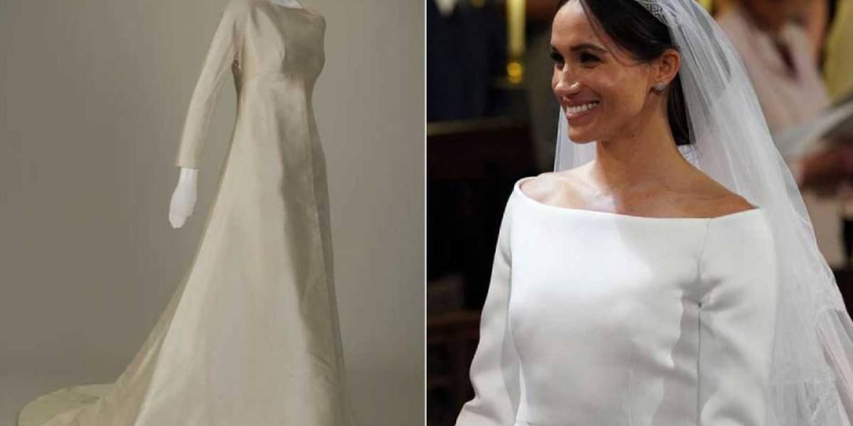 Meghan Markle prestará su vestido de novia para una exposición en el Castillo de Windsor
