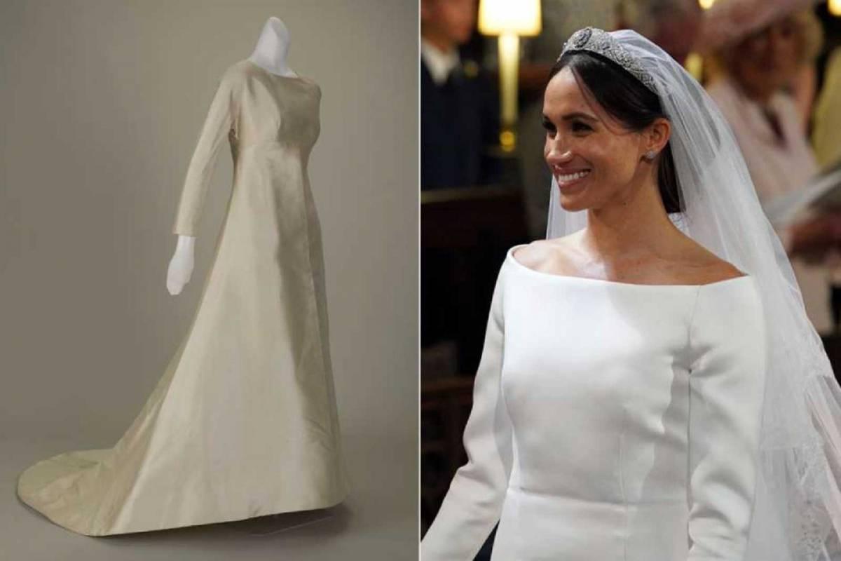 El vestido de la novia meghan