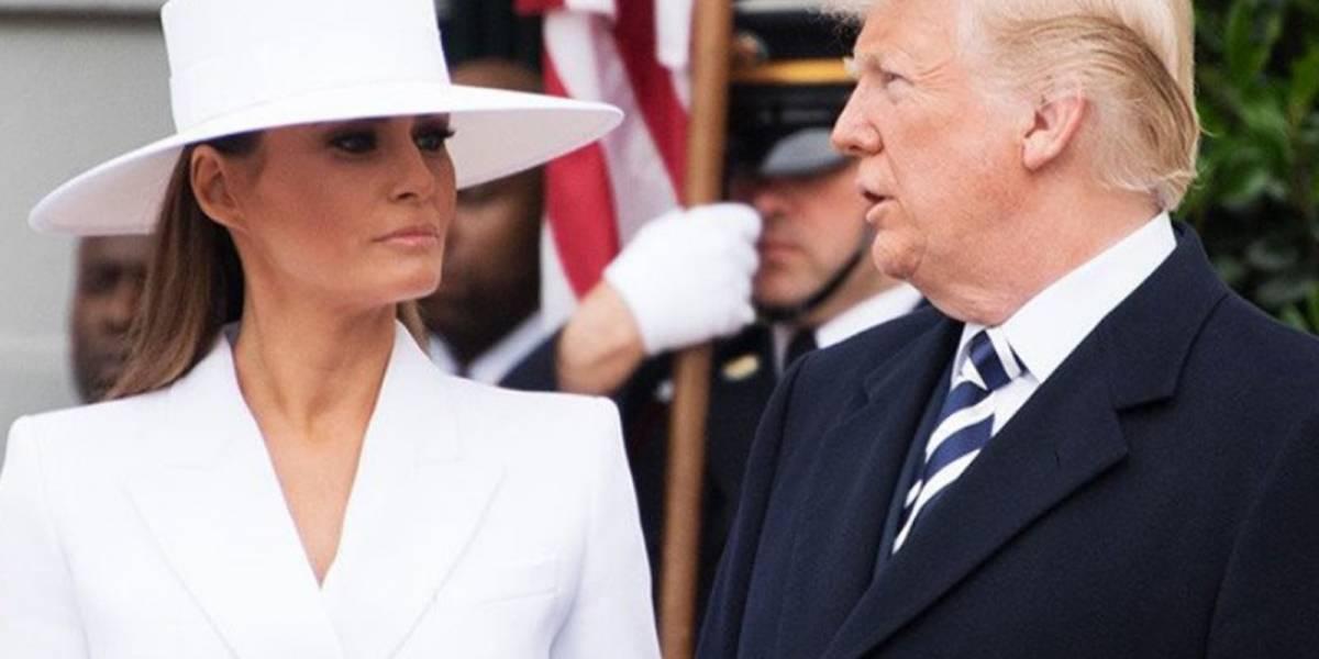 """""""Turn down for what"""" al estilo de la primera dama: 3 momentos en los que Melania dejó en ridículo a Donald Trump"""