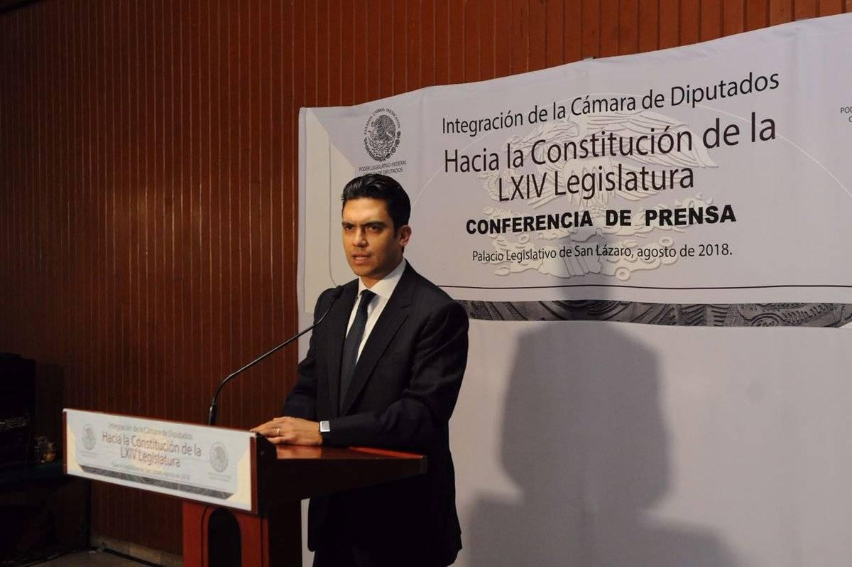 Por su parte, Jorge Romero Herrera expresó su respaldo a Romero Hicks como coordinador del PAN en la Cámara de Diputados; dice que están dispuestos a construir acuerdos con Morena. Foto: @MX_Diputados