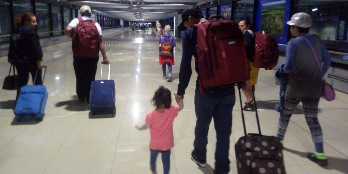 Retornan a Guatemala las últimas tres pacientes atendidas en EE. UU. tras la erupción