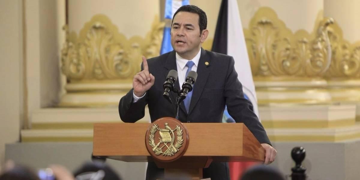 CC le pide información a Jimmy Morales por ministro Degenhart