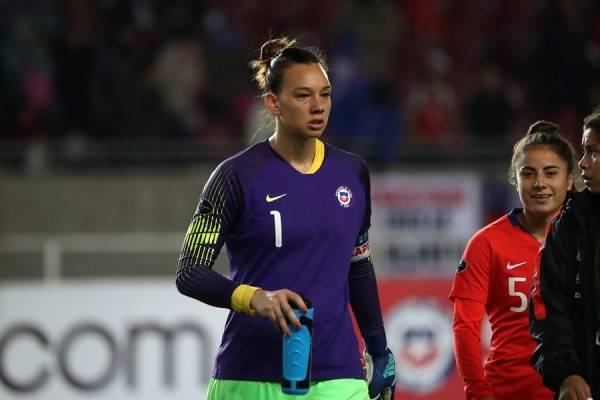 Christiane Endler, capitana de la Roja/ Foto: Photosport