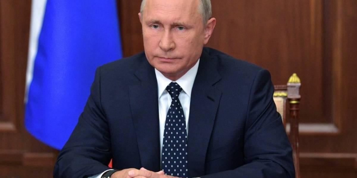 """Ante protestas, Putin """"suaviza"""" la reforma de jubilaciones en Rusia"""