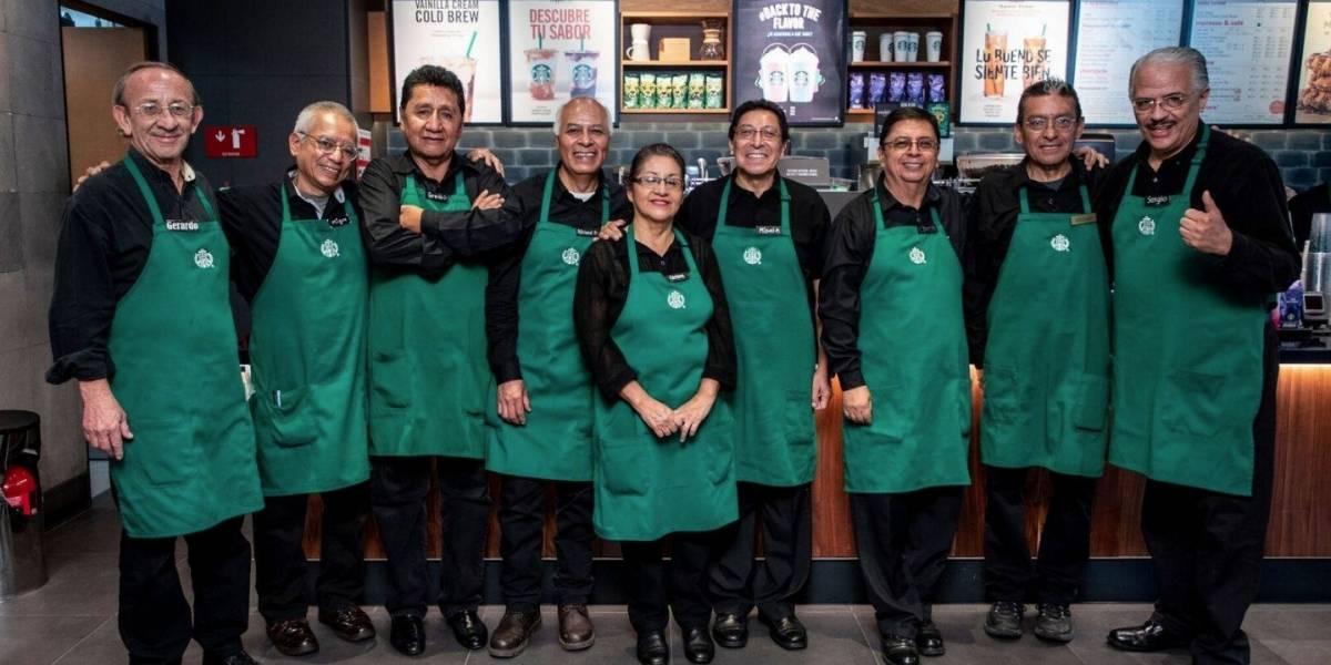 Starbucks México abre su primera tienda operada por abuelitos