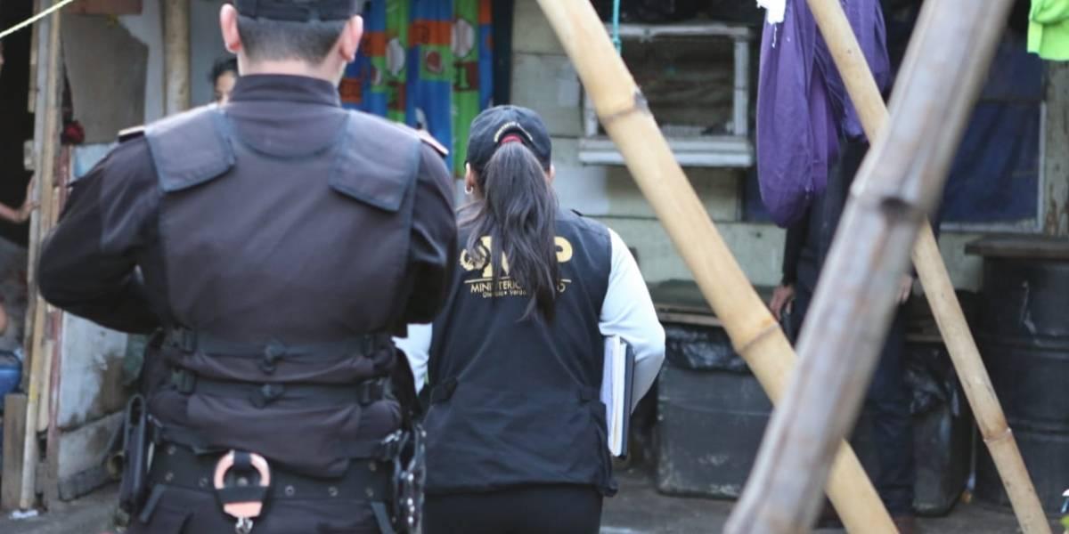 PNC y MP llevan a cabo 40 allanamientos por extorsiones