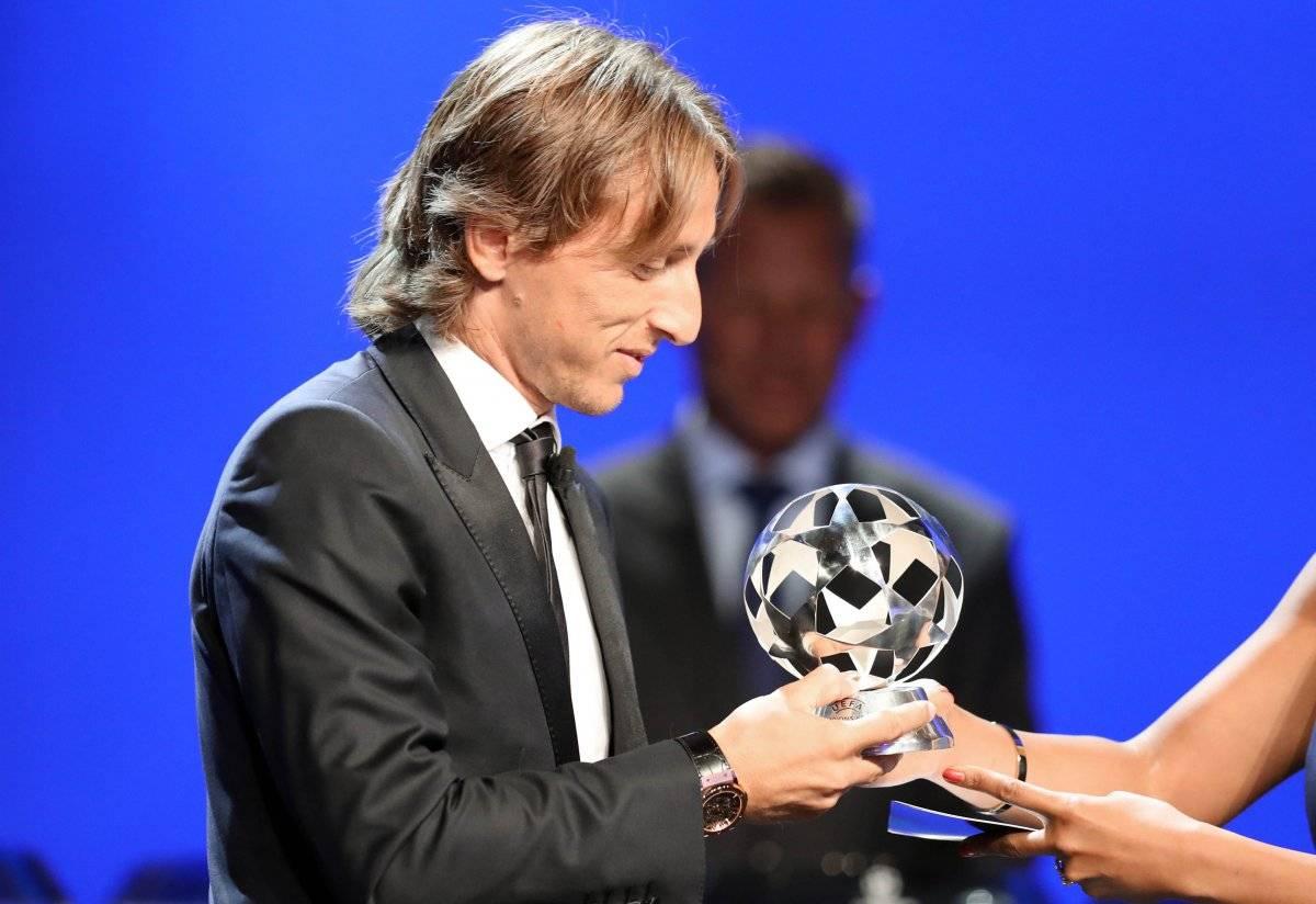 Modric ganó el premio al mejor mediocampista de la temporada
