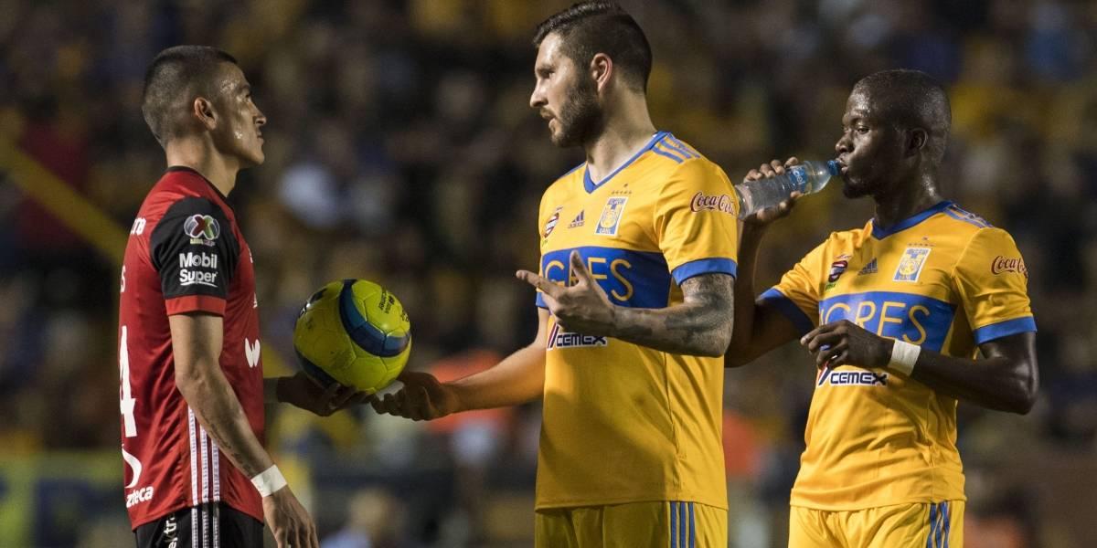 Tigres recibirá al Atlas quien sigue sin anotar en la Liga MX
