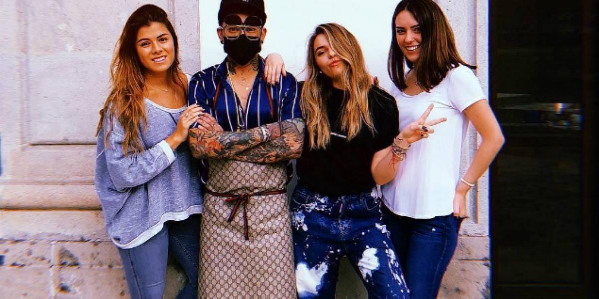 Presumen Paulina Peña y Sofía Castro tatuajes realizados en Los Pinos
