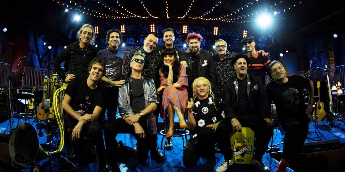 Regresan Los Auténticos Decadentes con  un MTV Unplugged