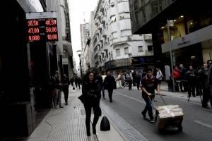 Argentina, devaluación