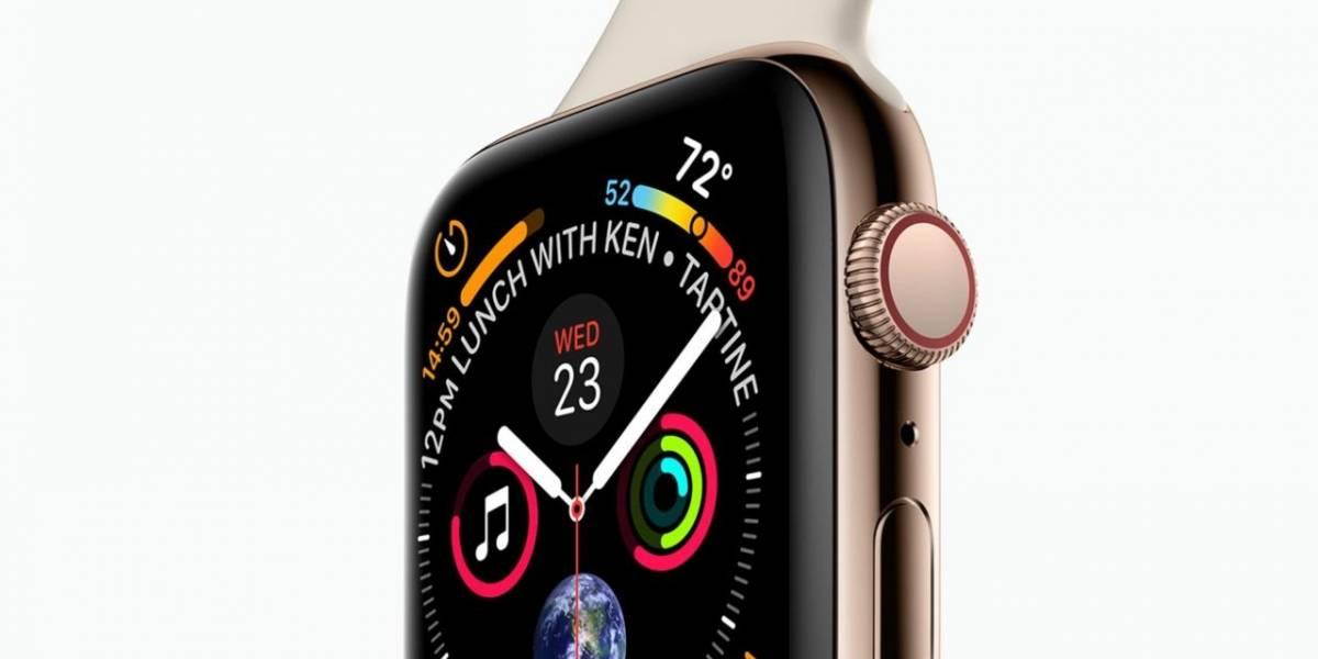 Así será el nuevo Apple Watch Series 4 con pantalla sin bordes