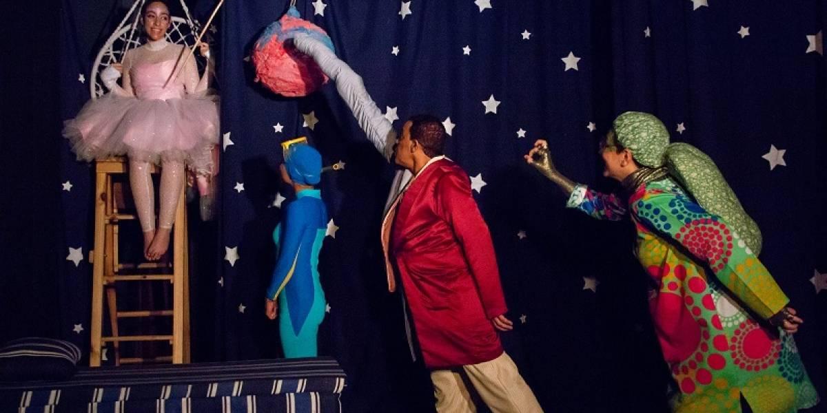 Espectáculo teatral ¿A qué te sabe la Luna?, promueve valores familiares