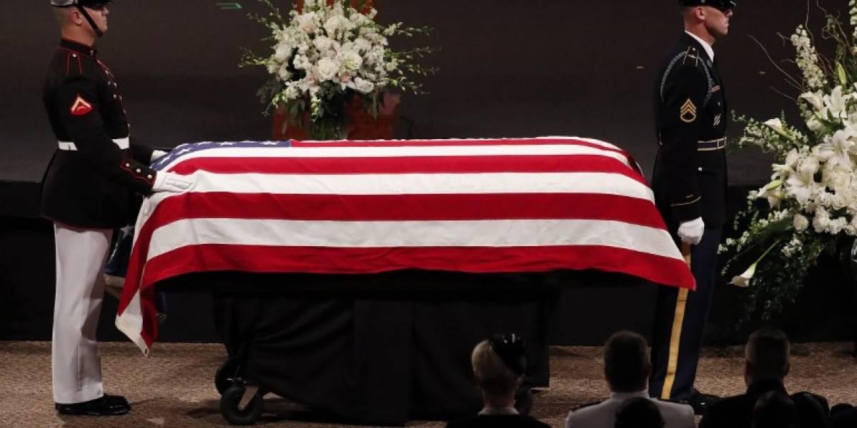 FOTOS. Arizona rinde homenaje al fallecido John McCain
