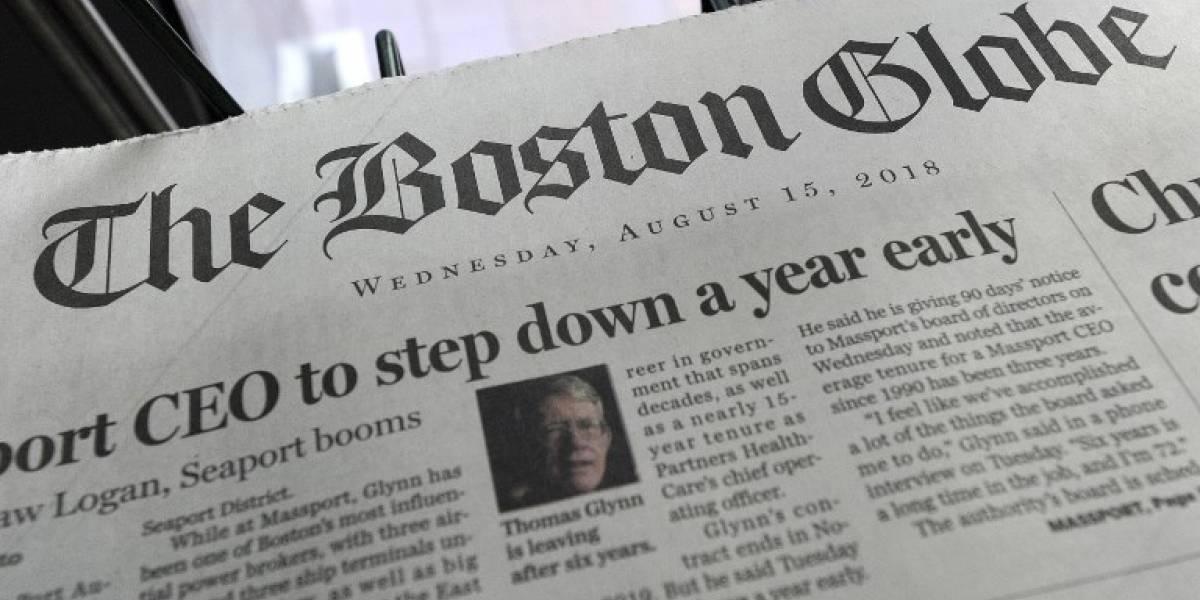 Arrestan a hombre por amenazar de muerte a periodistas del Boston Globe