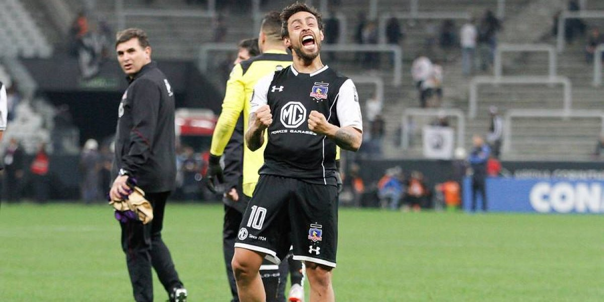"""Valdivia se volvió loco tras eliminar a Corinthians: """"¡Así unos huevos!"""""""