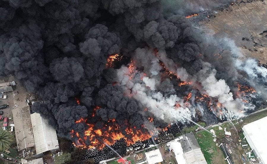 Incendio Maipú