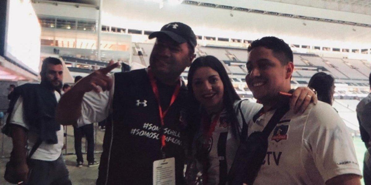 El viaje soñado: la cruzada tuitera que hizo felices a tres hinchas de Colo Colo en Sao Paulo