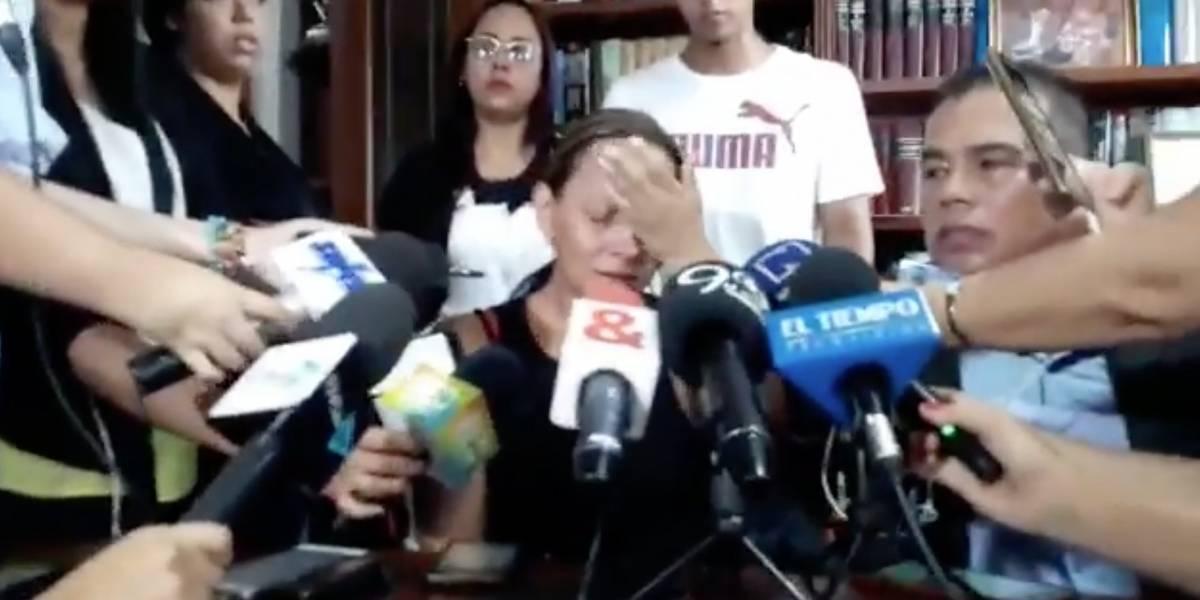 Dejan en libertad a promotora del 'narcotour' accidentado en Ecuador