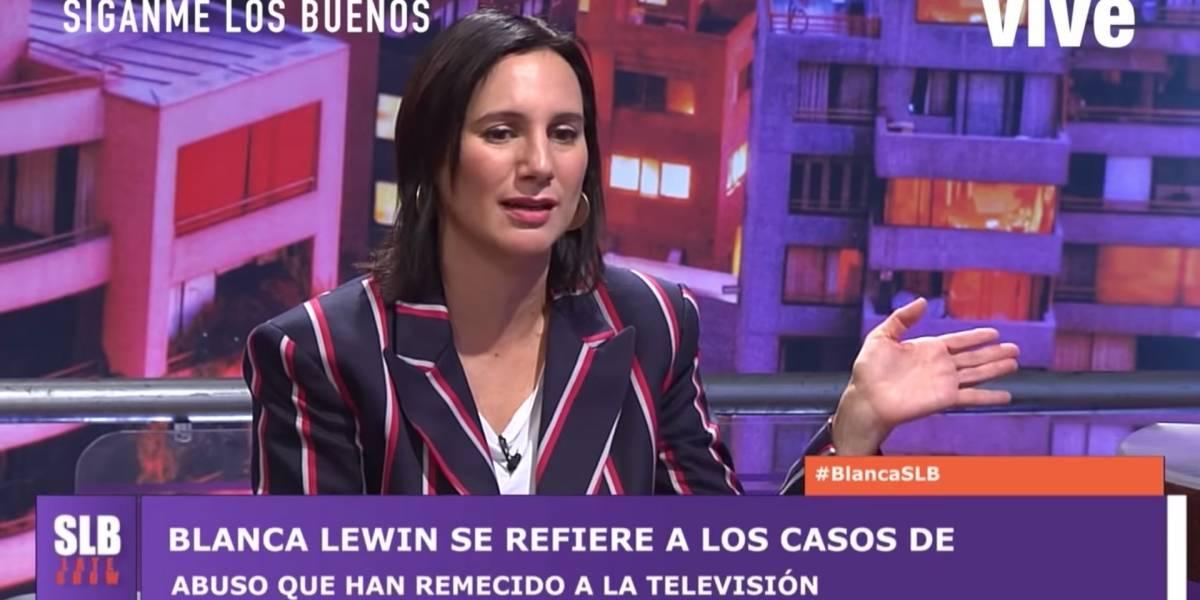 """Blanca Lewin habla del acoso que ha sufrido en la calle, la micro y la feria: """"Nos pasa a todas las mujeres"""""""