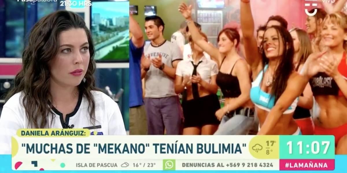 """Daniela Aránguiz asegura que en """"Mekano"""" muchas sufrían de bulimia: """"Se tomaba a la ligera, como un juego"""""""