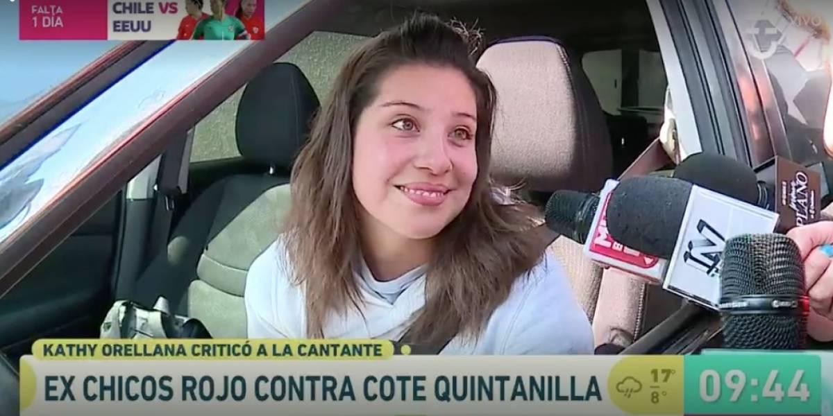 """La decisión que tomó María José Quintanilla luego que Katherine Orellana dijera que """"le carga"""""""