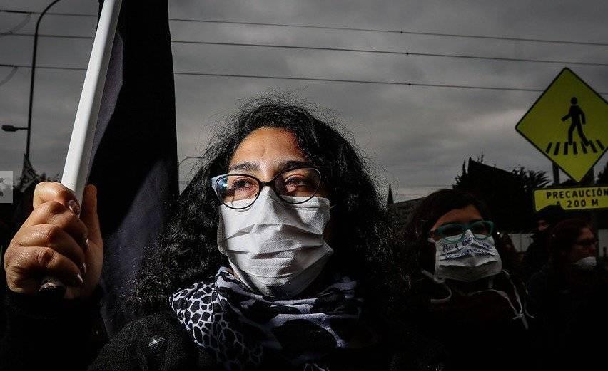Protestas en Quintero y Puchuncaví